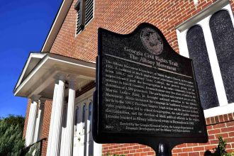 GA/Civil Rights Trail/Albany Shiloh Baptist Church
