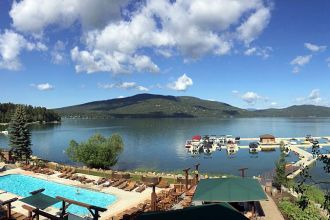 MT/Whitefish/The Lodge at Whitefish Lake/Umgebung