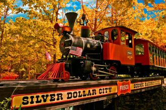 MO/Branson/Silver Dollar City Train/Außen