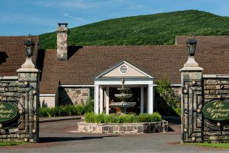 MA/Berkshires/The Orchards Hotel/Eingang