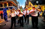Band im French Quarter, New Orleans, Louisiana - Credit: New Orleans CVB