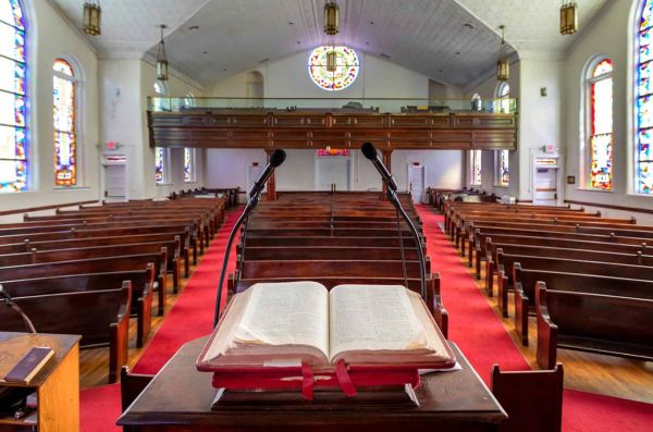 First Baptist Church, Montgomery, Alabama - Credit: U.S. Civil Rights Trail