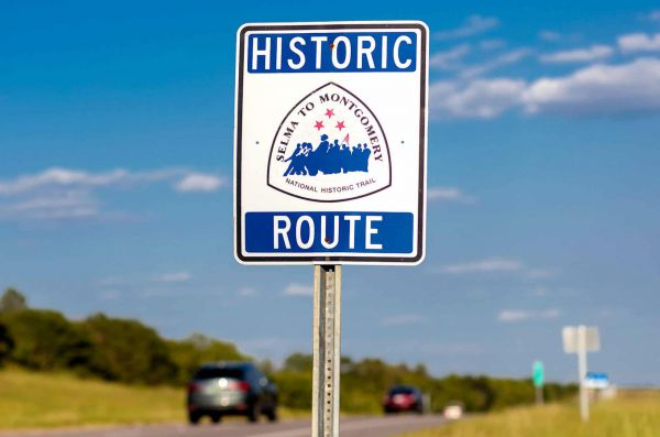 Historic Route - Selma bis Montgomery, Alabama - Credit: U.S.Civil Rights Trail