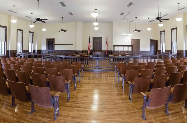 MS/Civil Rights Trail/Money/Tallahatchie County Courthouse