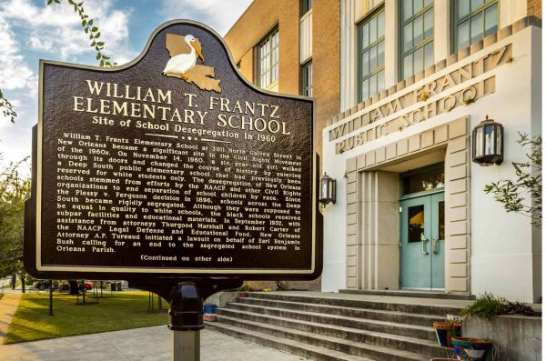 LA/Civil Rights Trail/William Frantz Elementary School
