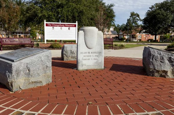 The Orangeburg Massacre Site, South Carolina - Credit: U.S. Civil Rights Trail